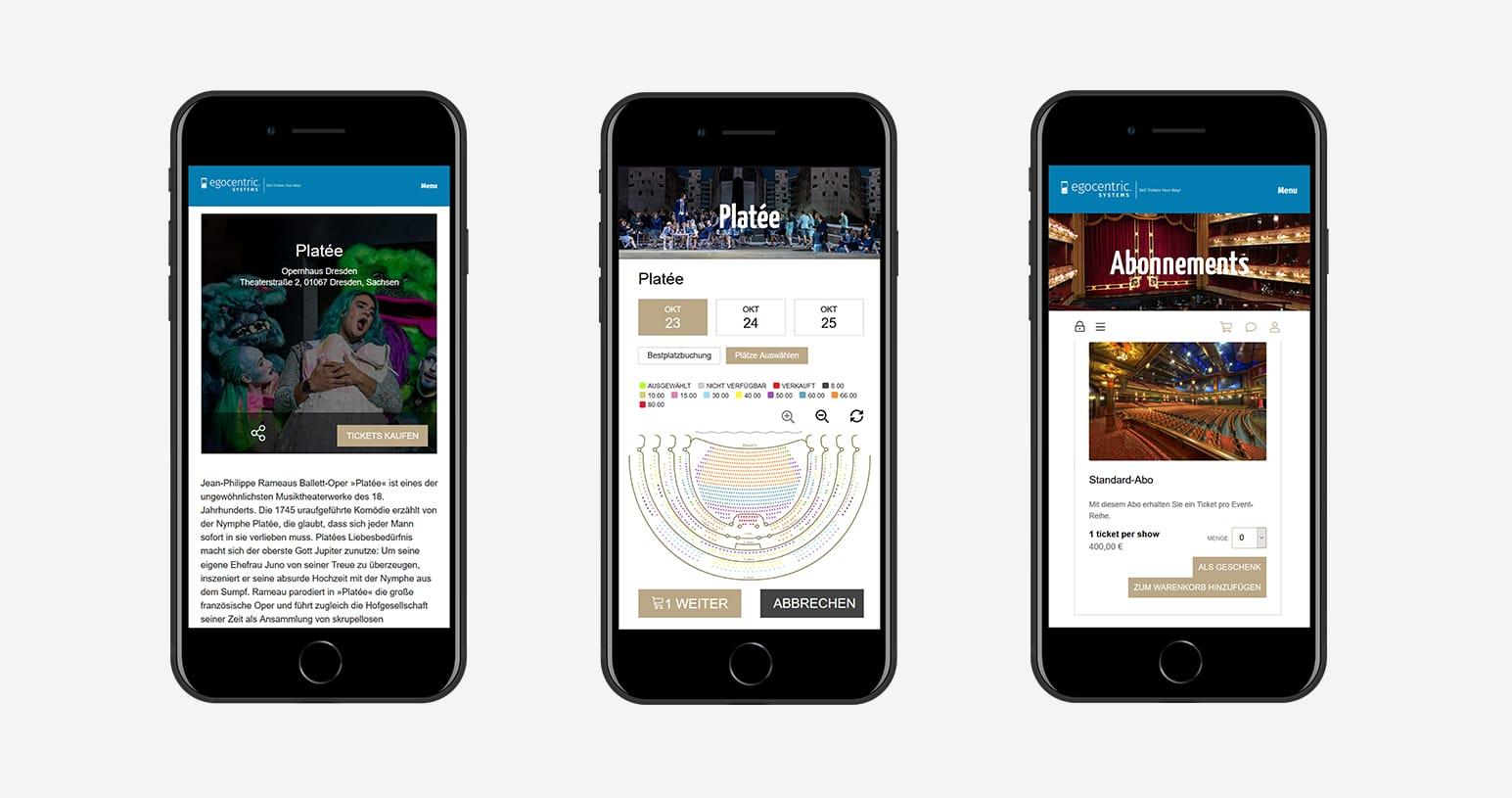 Verkaufe Deine eigenen Tickets für Dein Opernhaus mit der Event Ticketing Software von egocentric Systems