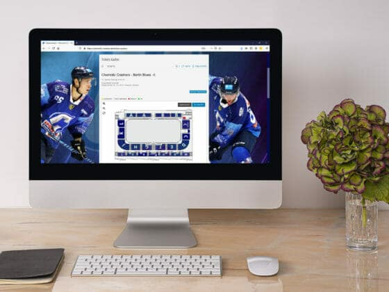 Sport Ticketing Software mit smartem Saalplan