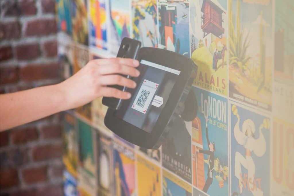 Blitzschnelle Besuchererfassung mittels digitalen Code oder gedruckten Bon