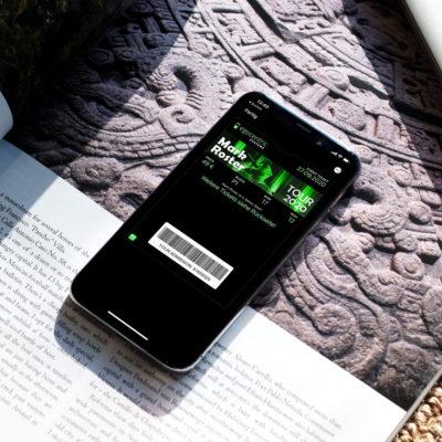 Mobile Tickets wie beispielsweise der PKPASS richten sich nach Kundenbedürfnissen