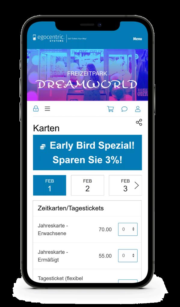 Online Ticketshop in Deinem Design und direkt auf Deiner Webseite