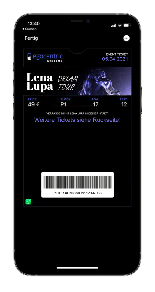 Mobile Tickets für kontaklosen Einlass und Reduzierung der Kontaktpunkte