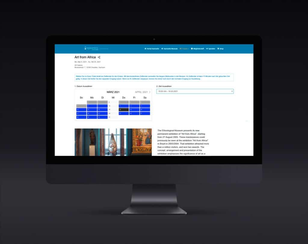 Einfache und schnelle Buchung im Online-Ticketshop direkt auf Deiner Webseite