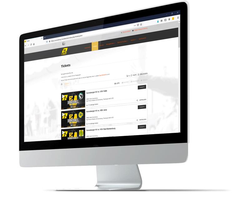 ticketshop in your design