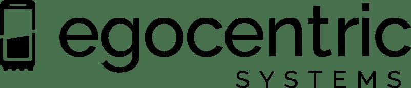 Logo egocentric Systems schwarz
